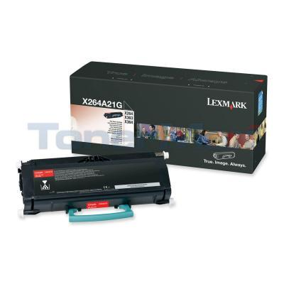 LEXMARK X264DN TONER CART BLACK